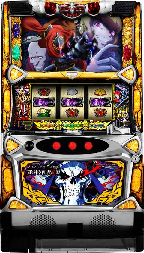 OVER‐SLOT「AINZ OOAL GOWN絶対支配者光臨」